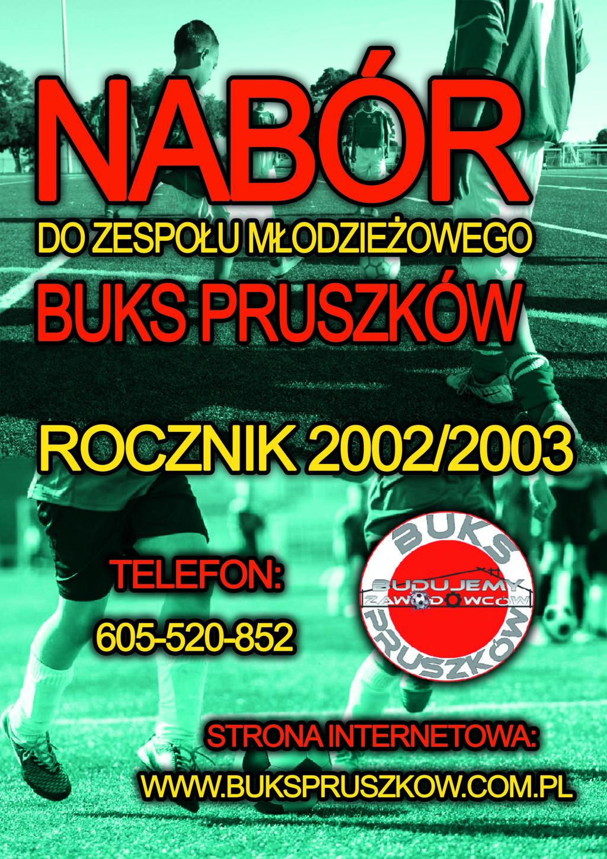 Plakat BUKS Młodzieżowy