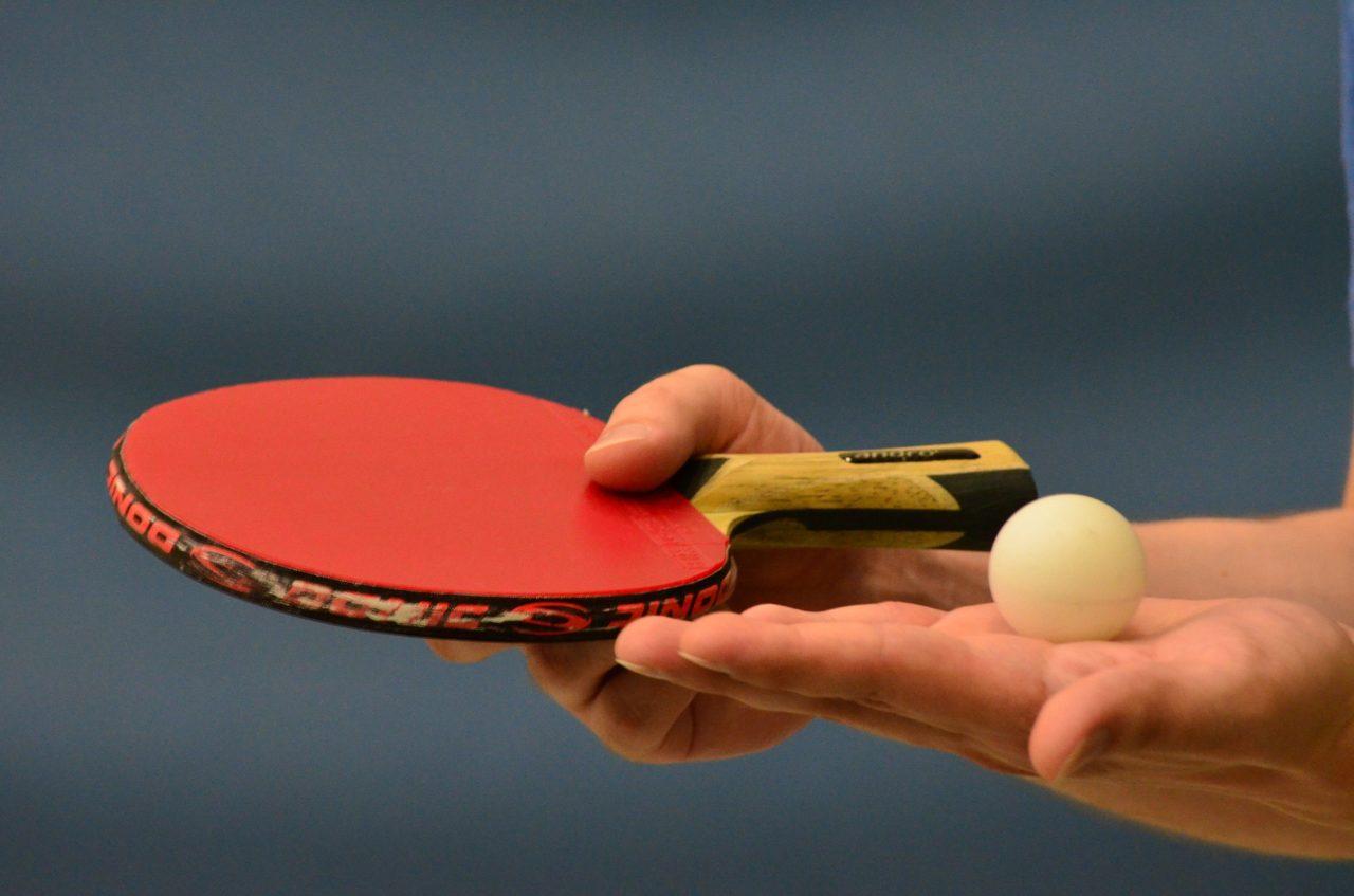 Działająca na terenie szkoły BUDOWLANKA sekcja tenisa stołowego